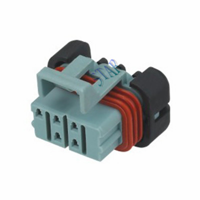5 pin female automotive waterproof connector STY7051Y-1.5-21